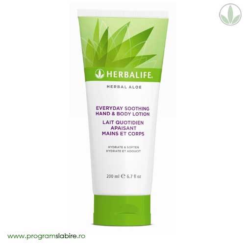 Lotiune pentru maini si corp Herbal Aloe