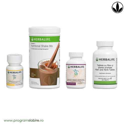 Program rapid de slabire cu Herbalife 2-3 kg